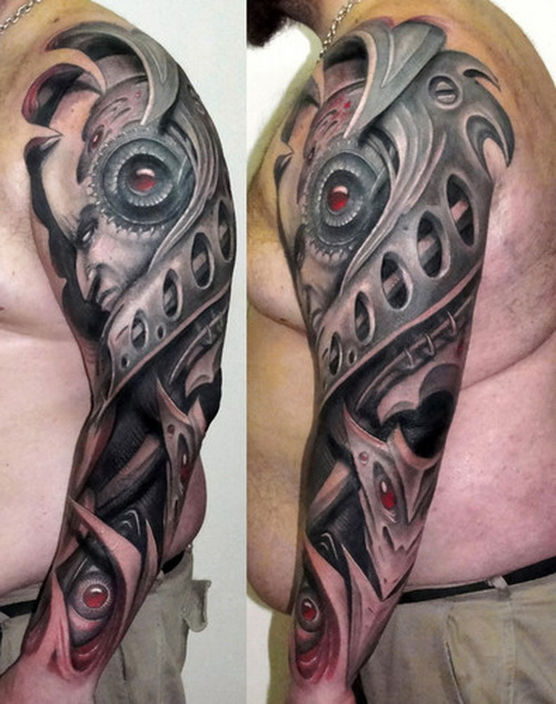 3D Men Arms Tattoo Upper Arm Tattoos