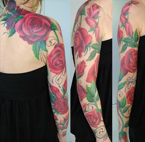 Arm Tattoos for Women Arm Tattoo Designs