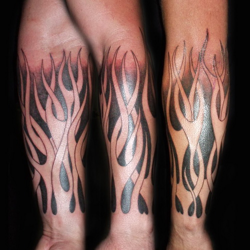 Tattoo Gallery for Men Fire Arm Tattoos for Men