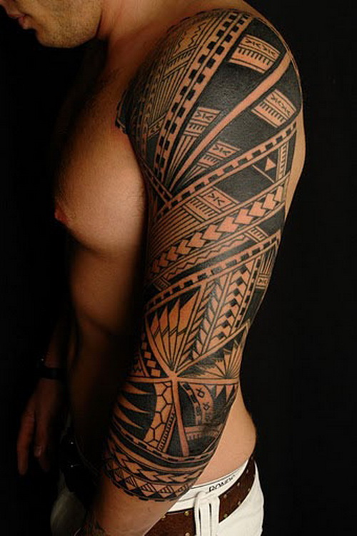Traditional Full Sleeve Tattoo