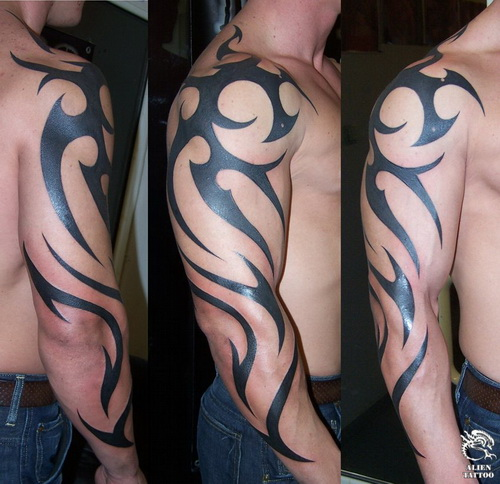 Tribal Arm Tattoo Arm Tattoo Designs