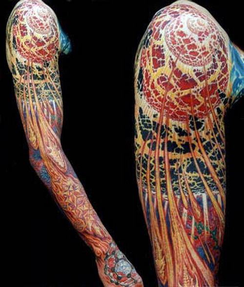 arm sleeve ink tattoos Dragon Sleeve Tattoos for Men