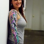 Best Girl Sleeve Tattoos