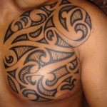 Best Tribal Chest Tattoos