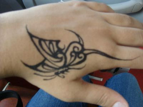 Butterfly Tattoos for Hand