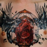 Chest Piece Tattoo for Men