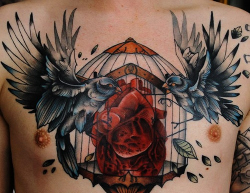 chest piece tattoo for men Chest Piece Tattoos