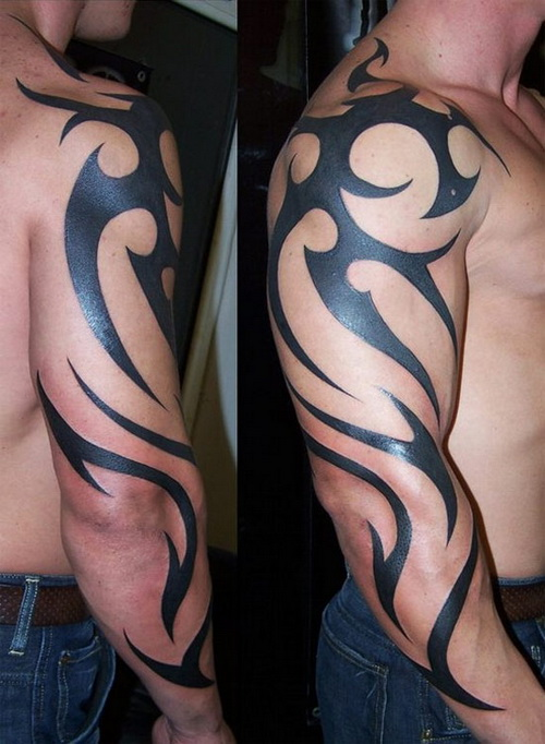 cool tribal tattoos arm Tribal Arm Tattoo Designs
