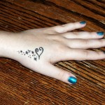 Cute Hand Tattoos for Women