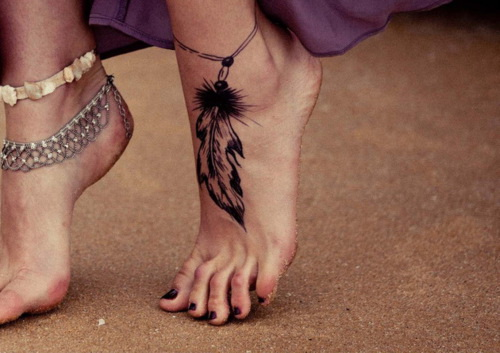 feet tattoos for women Tattoos on Feet