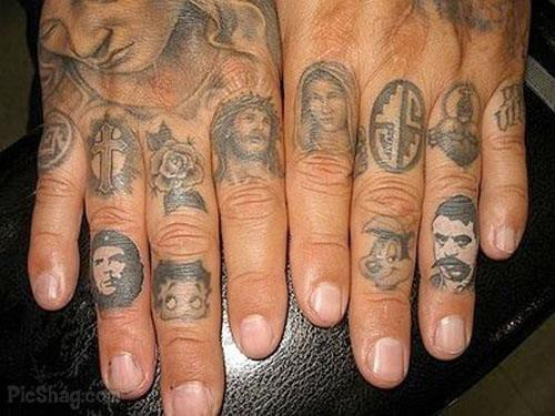 figure finger tattoos Ring Finger Tattoos for Couples