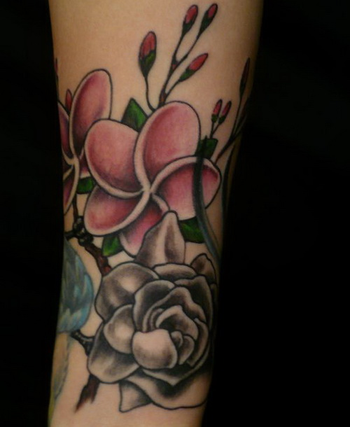 flower hidden hand tattoo Simple Hidden Hand Tattoo