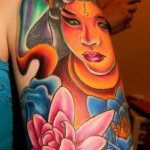 Girl Tattoo Sleeves Buddha