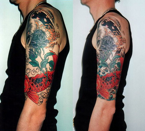 half tattoo sleeve designs Tattoo Sleeve Designs for Men and Women