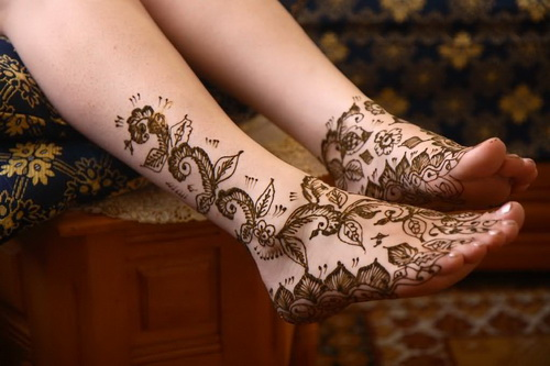 henna tattoo for feet Tattoos on Feet