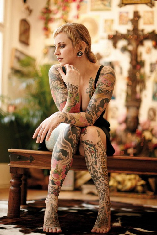 Leg Sleeve Tattoos