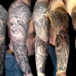 Men Full Sleeves Tattoos