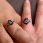 Ring Finger Tattoos Designs