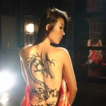 Sexy Back Tattoo Dragon