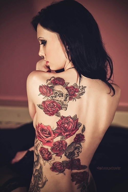 sexy back tattoos for women Sexy Back Tattoos