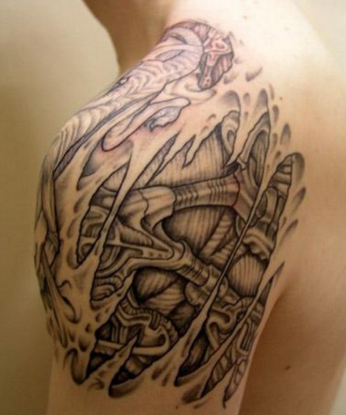 Incredible Shoulder Tattoo Designs 500 x 600 · 85 kB · jpeg