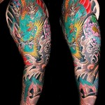 Sleeve Tattoo Dragon Tumblr