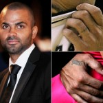 Tony Parker Finger Tattoos