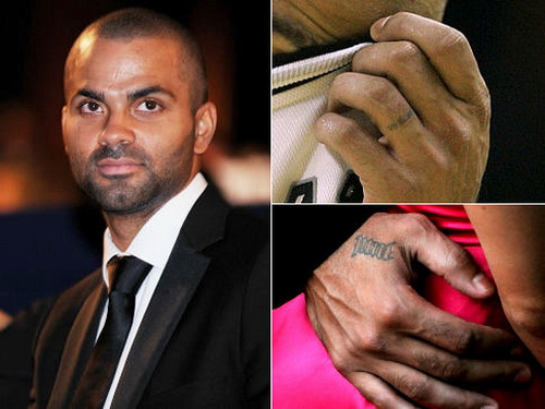 tony parker finger tattoos Ring Finger Tattoos for Couples