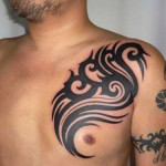 Tribal Chest Tattoo Ideas