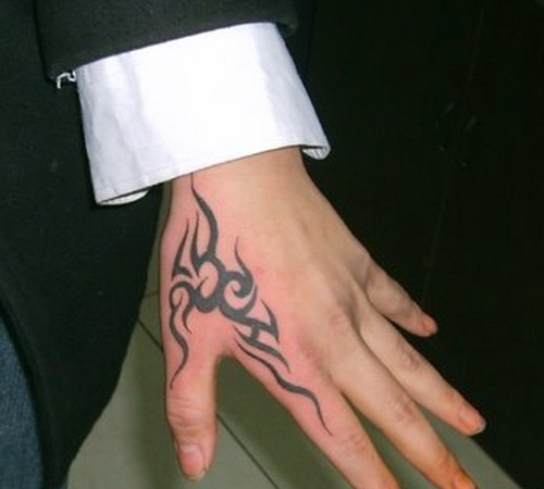 Hand Tattoo For Men