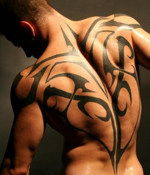 tribal tattoos for back Full Back Tattoos For Men and Women