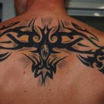 Upper Back Tattoo for Men