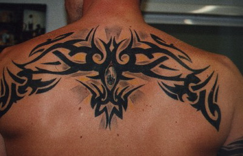 upper back tattoo for men Upper Back Tattoos