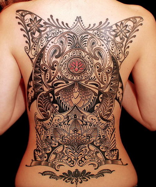 women back tattoos Full Back Tattoos For Men and Women