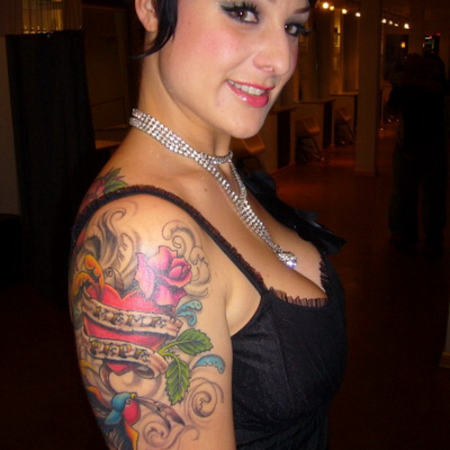women tattoos upper arm Upper Arm Tattoos