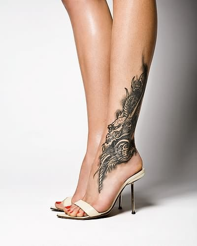 Ankle Tattoo Designs Women6 Ankle Tattoo Designs For Men
