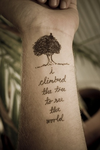 life quote tattoos3 Ideas for Life Quote Tattoos