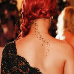 Rihanna-Back-Neck-Stars-Tattoo