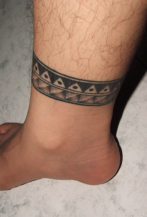 ankle tattoo designs for men Ankle Tattoo Designs For Men