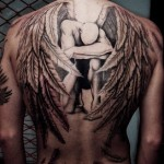 An Example of a Back Tattoo Idea for Men