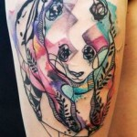 Panda by Tattoo Artists