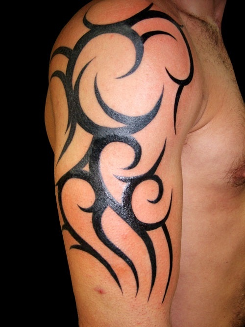 Half sleeve tattoo ideas men 9 for Ideas for half sleeve tattoos for men