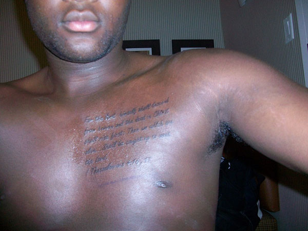 Tattoo Ideas For Black Men 1 Attractive Tattoo Ideas For Black Men