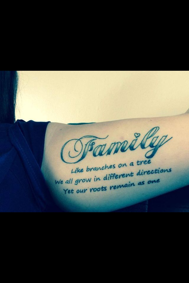 Family Tattoo Ideas 4 Family Tattoo Ideas   Express Your Undying Love and Respect For Your Family
