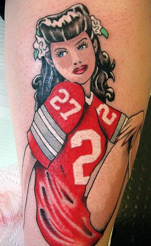 American Footba... American Football Tattoos Designs